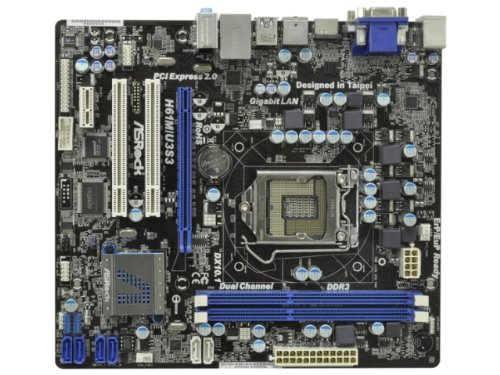 ASRock H61 Micro-ATX SATA3 USB3 HDMI DVI H61M/U3S3