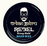 #9: UrbanGabru Rebel Hair Wax : Strong Hold | Volume | Hair Style | Shiny finish | Natural Hair wax