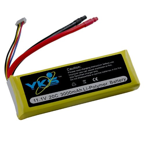 3000mah 3s 11.1v 20c Rc Lipo Battery Airplane Akku 11.1