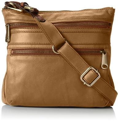 Fossil Explorer Cross Body Bag, Baked Apple, One Size: Handbags