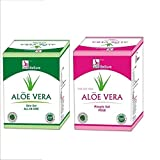 Besure Aloe Vera Skin Gel 100 Gms With Aloe Vera Pimple Gel 100 Gms