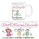 TIA Creation Best Friend Forever Gift Mug, Best for Everyday Gifts
