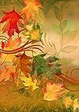 Toland Home Garden Autumn Aria 28 x 40-Inch Decorative USA-Produced House Flag