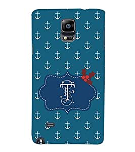EPICCASE dragon anchor Mobile Back Case Cover For Samsung Galaxy Note Edge (Designer Case)