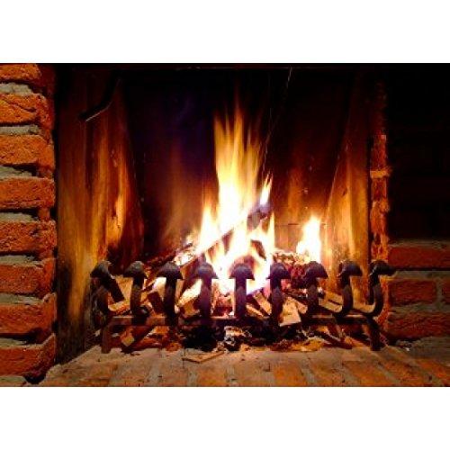 Stainless Steel Fireplace Reflector Home Garden Fireplace