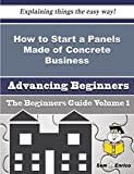 How to Start a Panels Made of Concrete Business (Beginners Guide)
