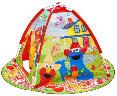 Sesame Street On The Farm Playtent
