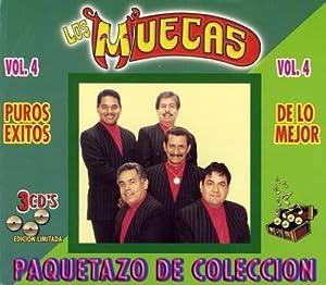 Los Muecas - Paquetazo De Coleccion Volume 4 Puros Exitos