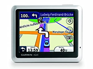 Garmin nüvi 1245 Navigationssystem West-Europa (8,9 cm (3,5 Zoll) Display, Fahrspurassistent, ecoRoute, Fußgänger- und PhotoNavigation)