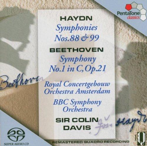HAYDN / BEETHOVEN / DAVIS / BBC SO / CGB