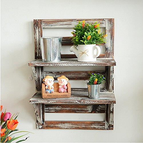 Para za el acabado r stico madera maciza serie retro for Mesones de madera
