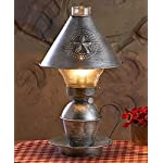 Antique Vintage Metal Table Lamp