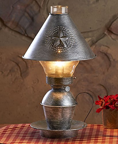 Antique Vintage Metal Table Lamp 0