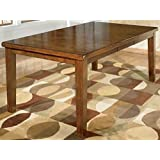 Ralene Rectangular Dining Room Butterfly Extention Table