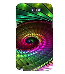 PRINTVISA Abstract Pattern Case Cover for Samsung Galaxy Note N7000