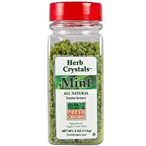 Fresh Origins, Mint Herb Crystals, 4 oz.