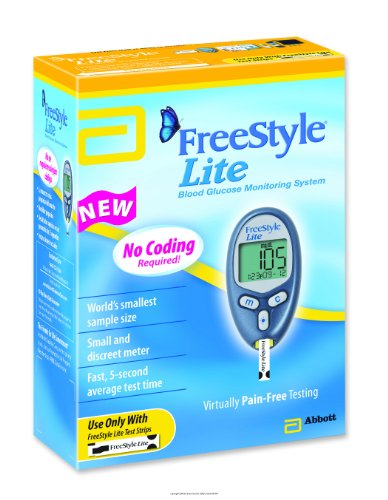 Cheap FreeStyle Lite ® Blood Glucose Monitoring System [Program Retail ] EA/1 (TSI70805)