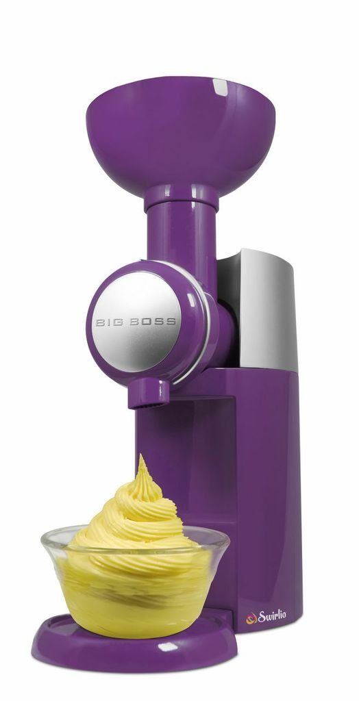 Big Boss 9370 Swirlio Frozen Fruit Dessert Maker, Purple
