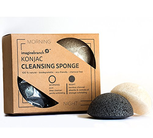 pure-konjac-activated-charcoal-facial-sponge-2-pack-for-exfoliating-cleansing-normal-sensitive-oily-