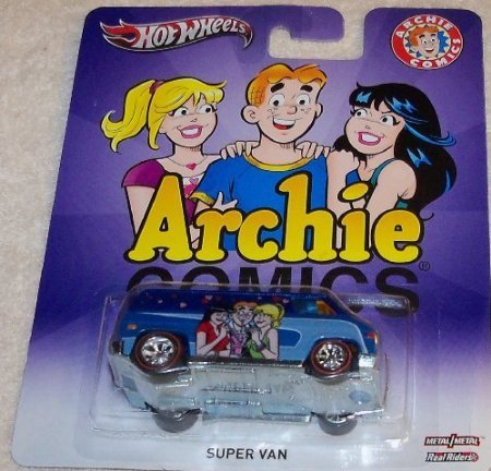 Hot Wheels - Archie Comics - Super Van - 1