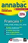 Annales Annabac 2014 Fran�ais 1re STM...