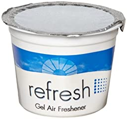 Fresh Products FRS 12-4G-CIT 4.6-Ounce Citrus Fragrance Refresh Gel Air Freshener (Pack of 12)