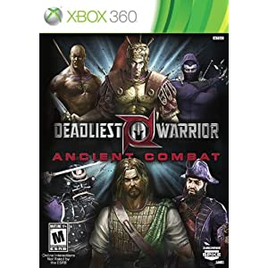 Deadliest Warrior: Ancient Combat Video Game for XBox 360