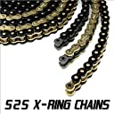 JPR High Performance Motorcycle Drive Chains 525 X-Ring 120 Link