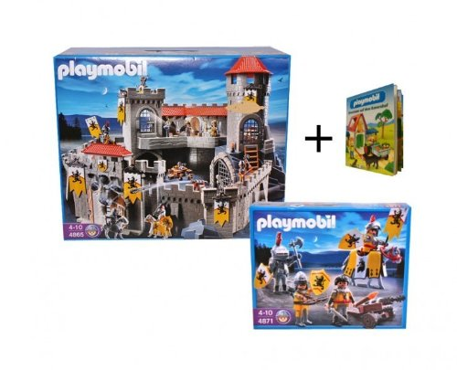 Details zu playmobil 4865 gro e l wenritterbur g ritter for 4865 playmobil