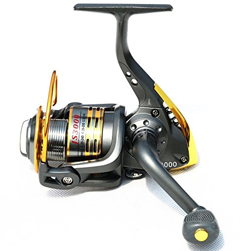 Hot Sale High Quality Model Js Superior Metal Spool 6bb Carp Spinning Fishing Reel 500-6000series