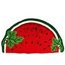 Rugs of Sliced & Red Watermelon Shape
