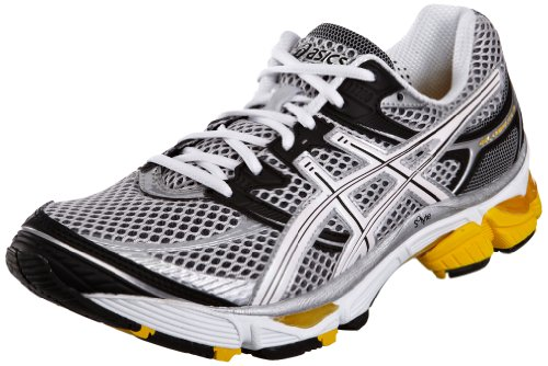 Asics Men's Gel Cumulus 13 Lightning/White/Yellow Trainer T149N 9301 7.5 UK