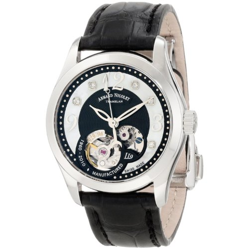Armand Nicolet Women's 9653A-NN-P953NR8 LL9 Limited Edition Stainless Steel Classic Automatic Watch