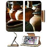 MSD Apple iPhone 6 Plus iPhone 6S Plus Flip Pu Leather Wallet Case vintage jar IMAGE 21465002