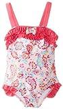 Absorba Baby-Girls infantil floral rosa Bañador para, impresas, 18Meses Color: Estampado Tamaño: 18Meses de Bebé, Niño, bebé