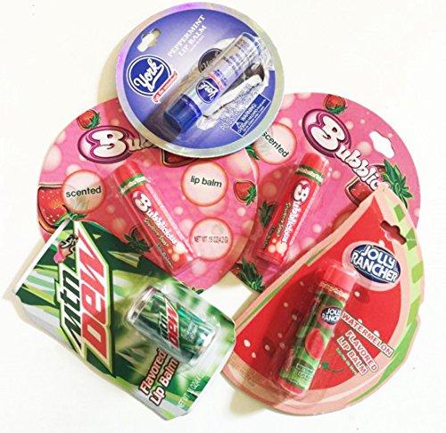 5-x-lip-balm-mtn-dew-bubblicious-jolly-rancher-york-soin-des-levres-crayons-etats-unis