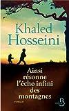 Ainsi résonne l'écho infini des montagnes par Hosseini