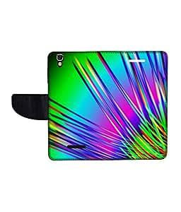 KolorEdge Printed Flip Cover For Micromax Yureka Multicolor -(55KeMLogo12371MmxYureka)