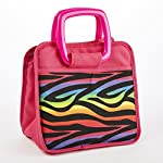 Bella Kids' Insulated Lunch Bag (Rainbow Zebra)