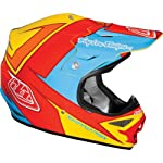 Troy Lee Designs Stinger Air MotoX/Off-Road/Dirt Bike Motorcycle Helmet - Yellow/Red / Medium
