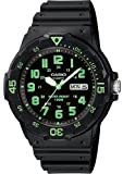 Casio #MRW200H-3BV Men's Easy Reader 100M Sports Analog Watch
