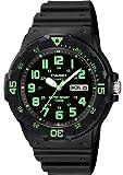 Casio #MRW200H-3BV Men's Easy Reader 100M Sports Analog Watch