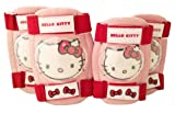 Hello Kitty 802408 Girls' Knee and Elbow Pads Set of 4 Pink