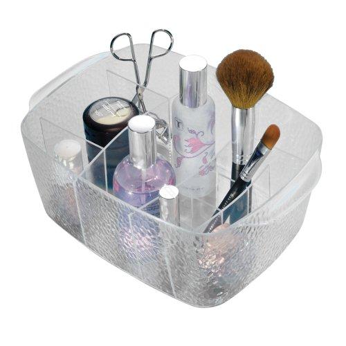 InterDesign Rain Cosmetic Organizer, Clear