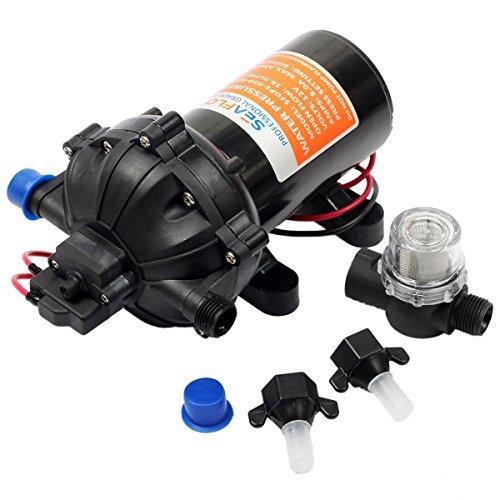 Seaflo 12v DC Water Pressure Diaphragm Pump 18.9 L/min 5.0 Gpm 60 Psi (Dc High Pressure Water Pump compare prices)