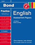 Sarah Lindsay New Bond Assessment Papers English 8-9 Years