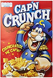 Quaker Captain Crunch Cereal, 14 oz