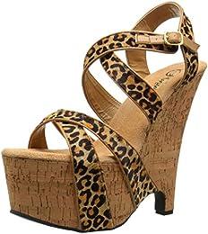 Pleaser Women s Beau 615 TLPPY CK Platform Sandal