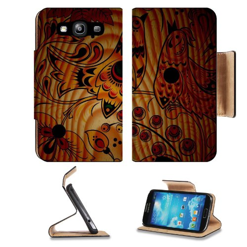 Pattern Phoenix Samsung Galaxy S3 I9300 Flip Cover Case With Card Holder Customized Made To Order Support Ready Premium Deluxe Pu Leather 5 Inch (132Mm) X 2 11/16 Inch (68Mm) X 9/16 Inch (14Mm) Liil S Iii S 3 Professional Cases Accessories Open Camera Hea