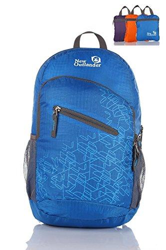 Outlander Packable Handy Lightweight Travel Backpack Daypack-Dark Blue-L